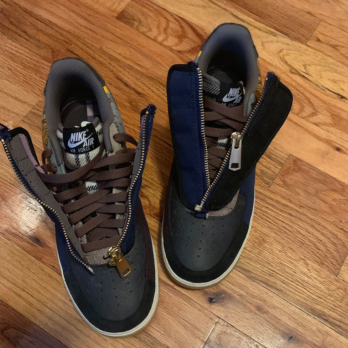 newest 3ea83 29140 Travis Scott Nike Air Force 1 Official Release Info ...