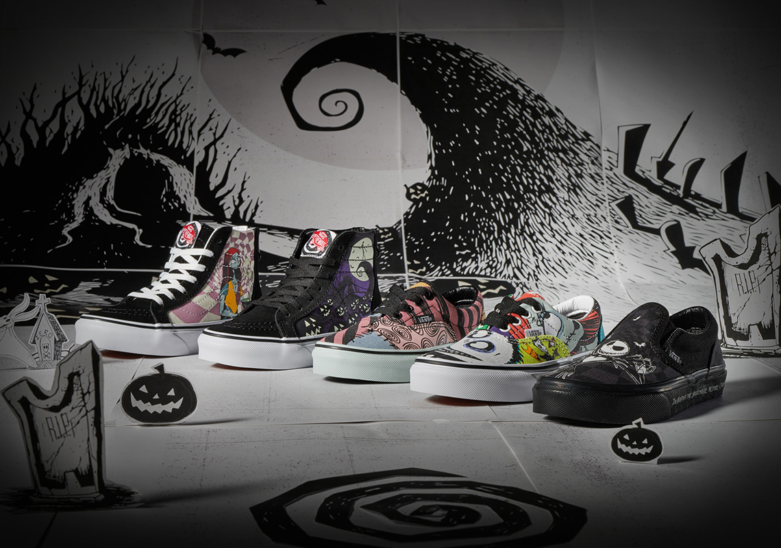 Nightmare Before Christmas x Vans Collection |