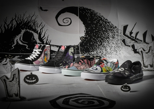 Disney's The Nightmare Before Christmas And Vans Set To Release Holiday Footwear Collection