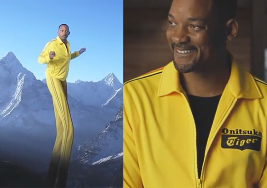 Will Smith And Onitsuka Tiger Reveal Collaboration With Trippy Video