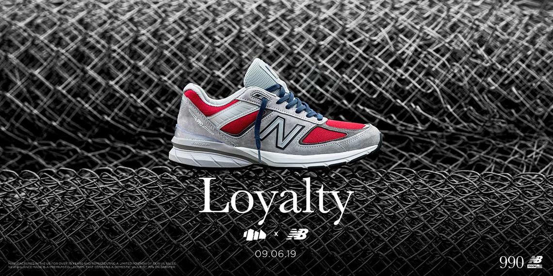 hot sale online 0c57a 3e31e YCMC New Balance 990v5 Loyalty Release Date | SneakerNews.com