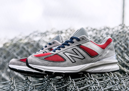 "YCMC And New Balance Join Forces For A 990v5 ""Loyalty"""
