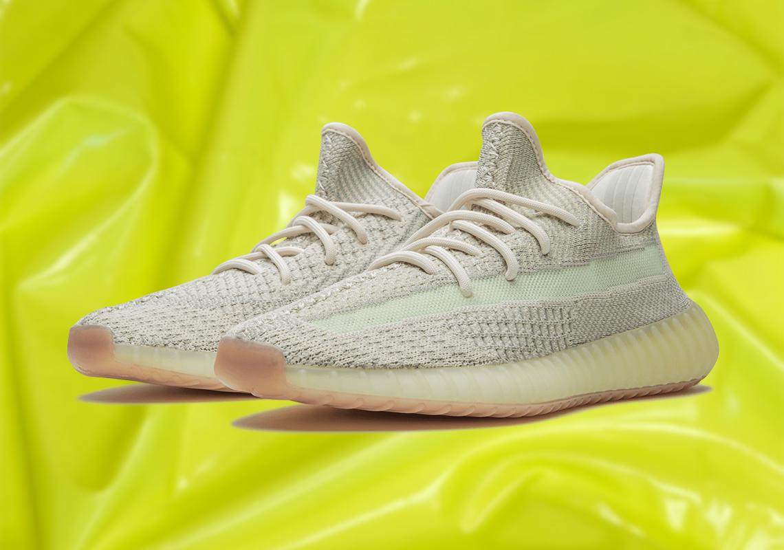 adidas Yeezy 350 v2 Citrin Official