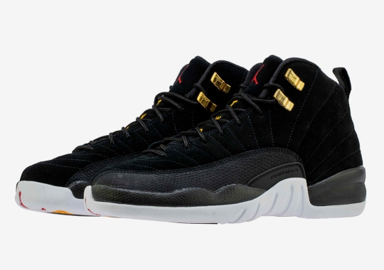 "The Air Jordan 12 ""Reverse Taxi"" Is Releasing In Grade School Sizes"