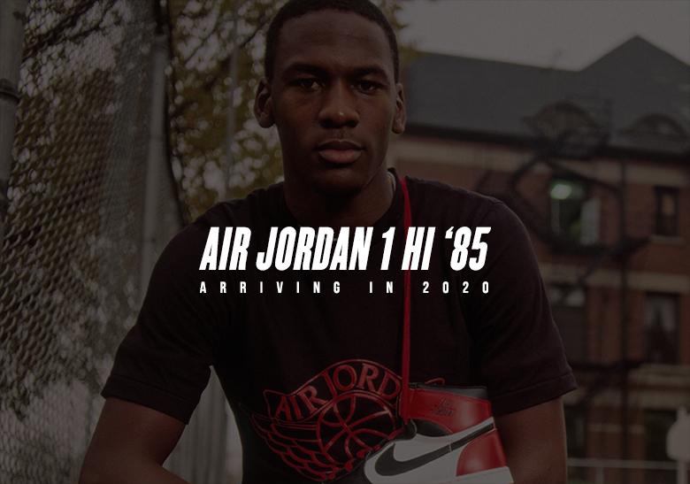 Air Jordan 1 Hi 85 Varsity Red 2020 Release Info | SneakerNews.com