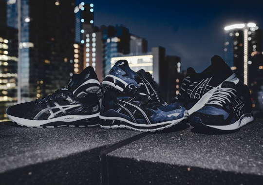 "The ASICS ""Midnight Blue"" Pack Is Inspired By The Night Sky"