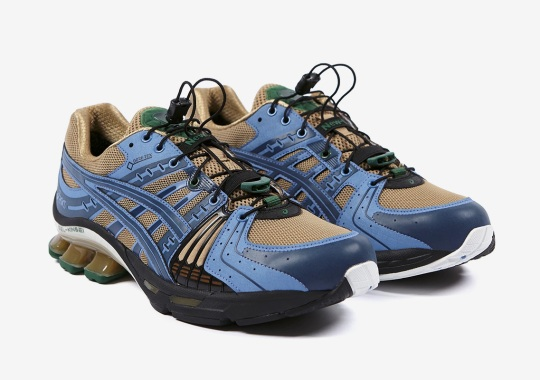 AFFIX WORKS And ASICS Add GORE-TEX To The GEL Kinsei OG