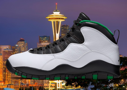 "Where To Buy The Air Jordan 10 ""Seattle"""