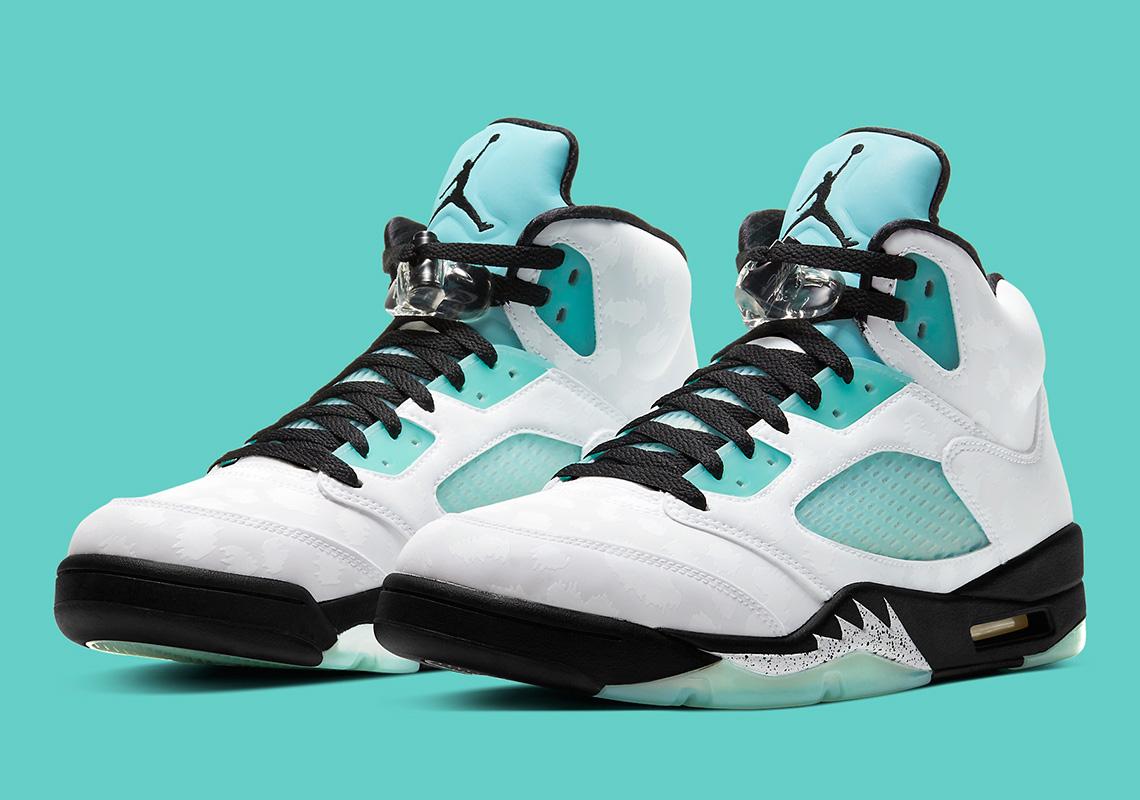 Air Jordan 5 Island Green CN2932-100 Release Date   SneakerNews.com