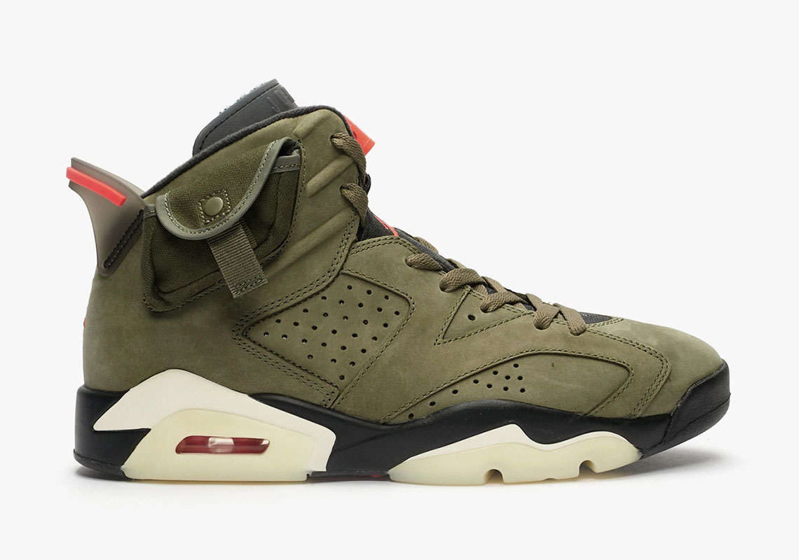 Air Jordan 6 Travis Scott - Store List