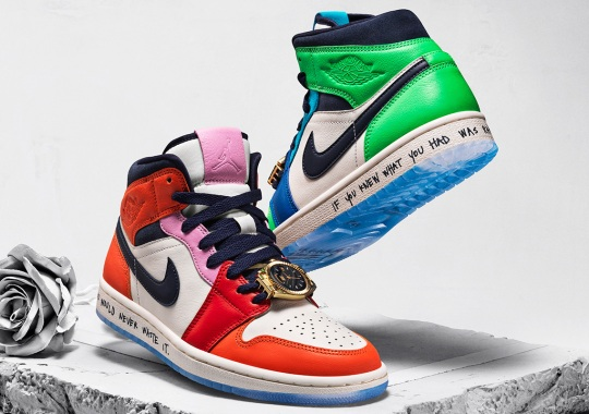 "Melody Ehsani Makes Full Use Of Color With Her Air Jordan 1 Mid ""Fearless"""