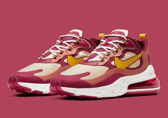 The Nike Air Max 270 React Features Flannel Prints On The Insoles