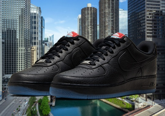 The Nike Air Force 1 Encapsulates The Chicago Spirit
