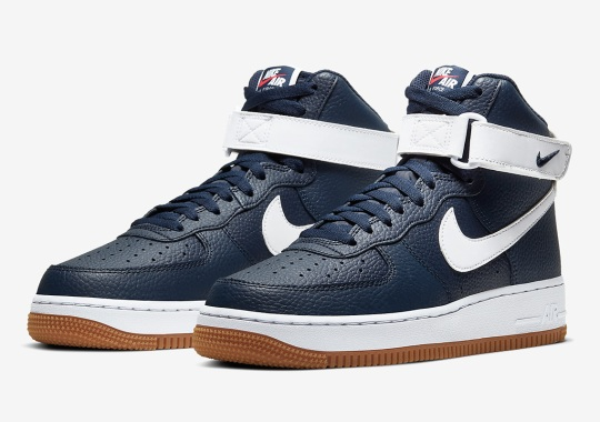 Nike Keeps It Simple With An Obsidian And White Air Force 1 High