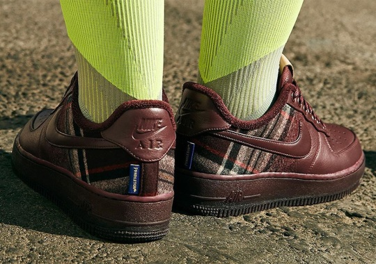 Nike By You Adds Pendleton Wool To The AF1, Air Max 90, And More