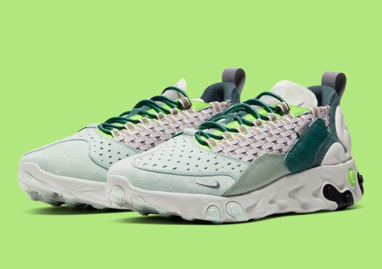 "The Nike React Sertu ""Faded Spruce"" Arrives On October 24th"