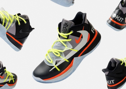 """ROKIT And Nike Go From Paint To Ledge With The F&F Kyrie 5 """"Welcome Home"""""""
