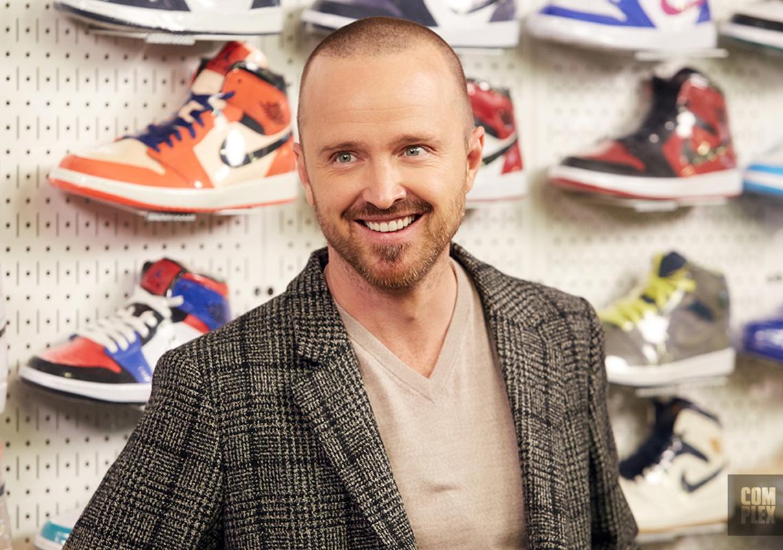 lluvia telegrama explosión  Aaron Paul Sneaker Shopping Episode | SneakerNews.com