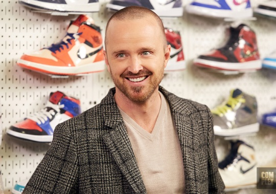 Aaron Paul Almost Kept Jesse Pinkman's Sneakers From Breaking Bad