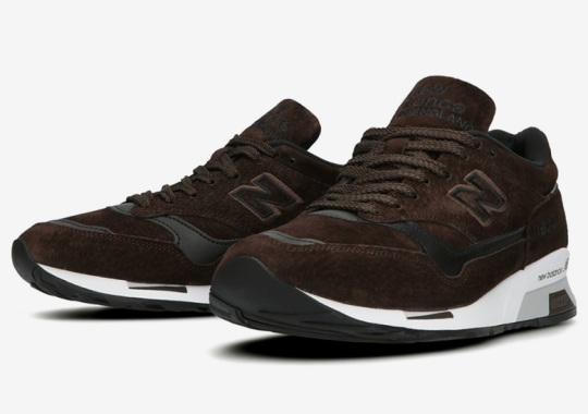 United Arrows And New Balance Celebrate 30th Anniversary With A Dark Brown 1500