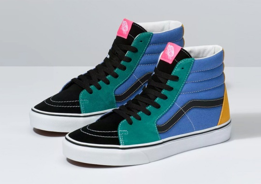 "Vans Sk8-Hi ""Mix & Match"" Is Available Now"