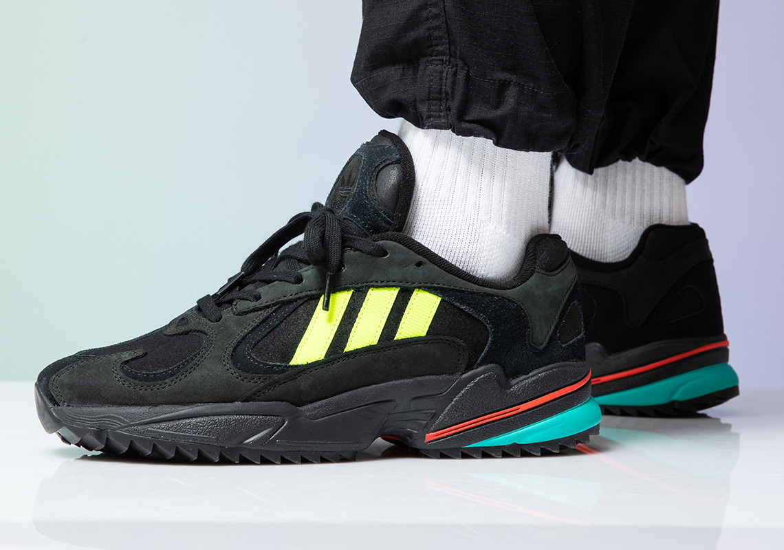 adidas Yung 1 Trail Solar Yellow EE5321 Release Info