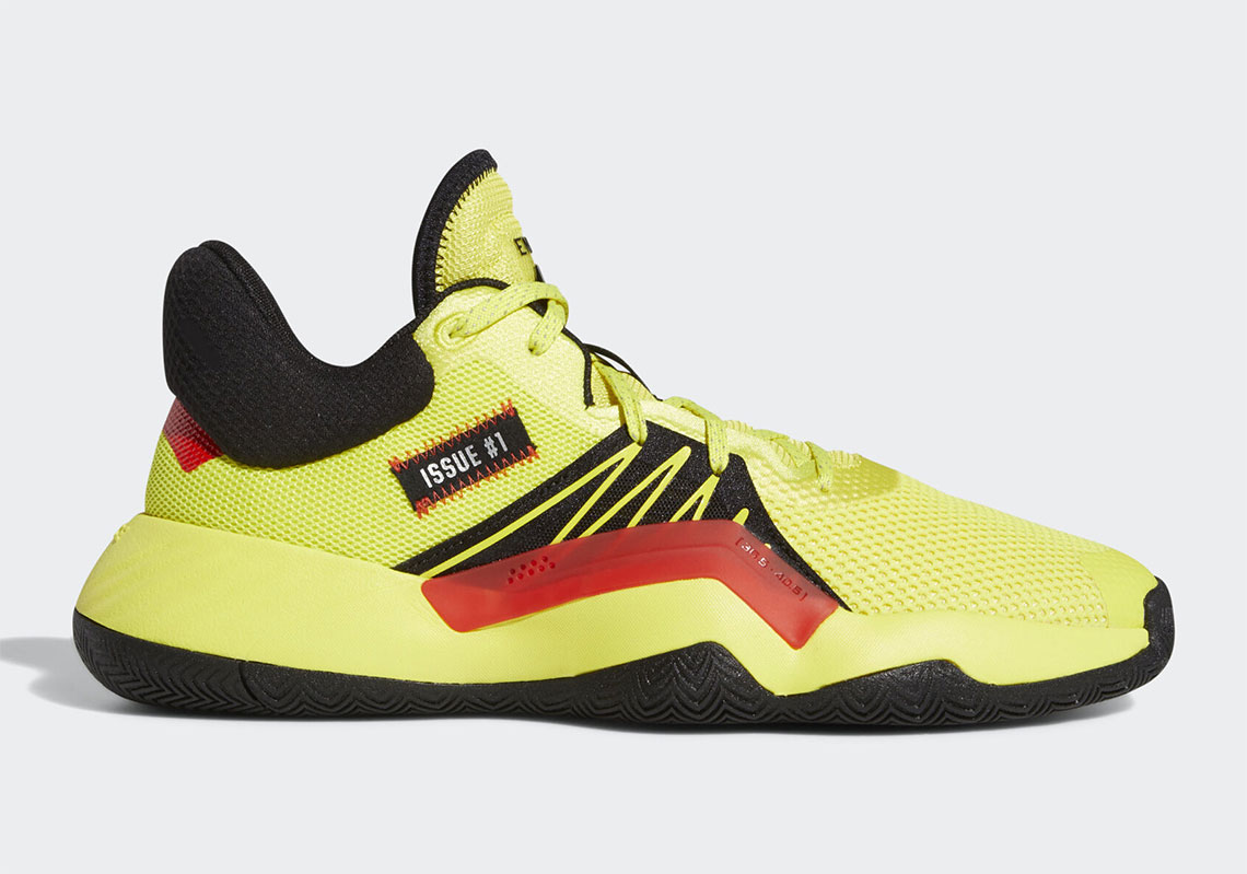 adidas DON Issue 1 Shock Yellow EG5667 | SneakerNews.com