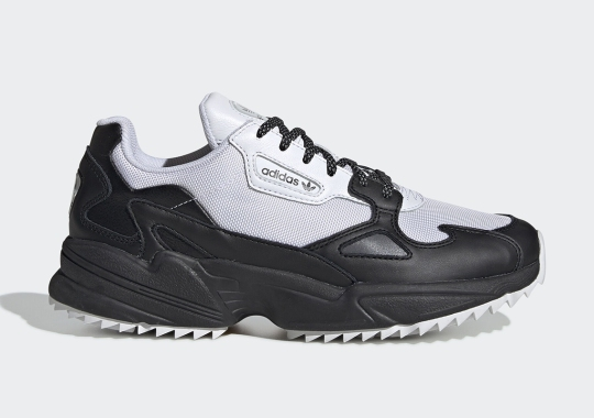 "The adidas Falcon Arrives In A ""Tuxedo"" Colorway"