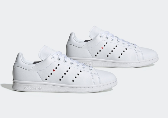 """The adidas Stan Smith """"Heart Stripe"""" Pack Is A Reflection Of Human Relationships"""