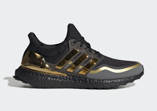 adidas Adds Metallic Gold Trim To The Ultra Boost