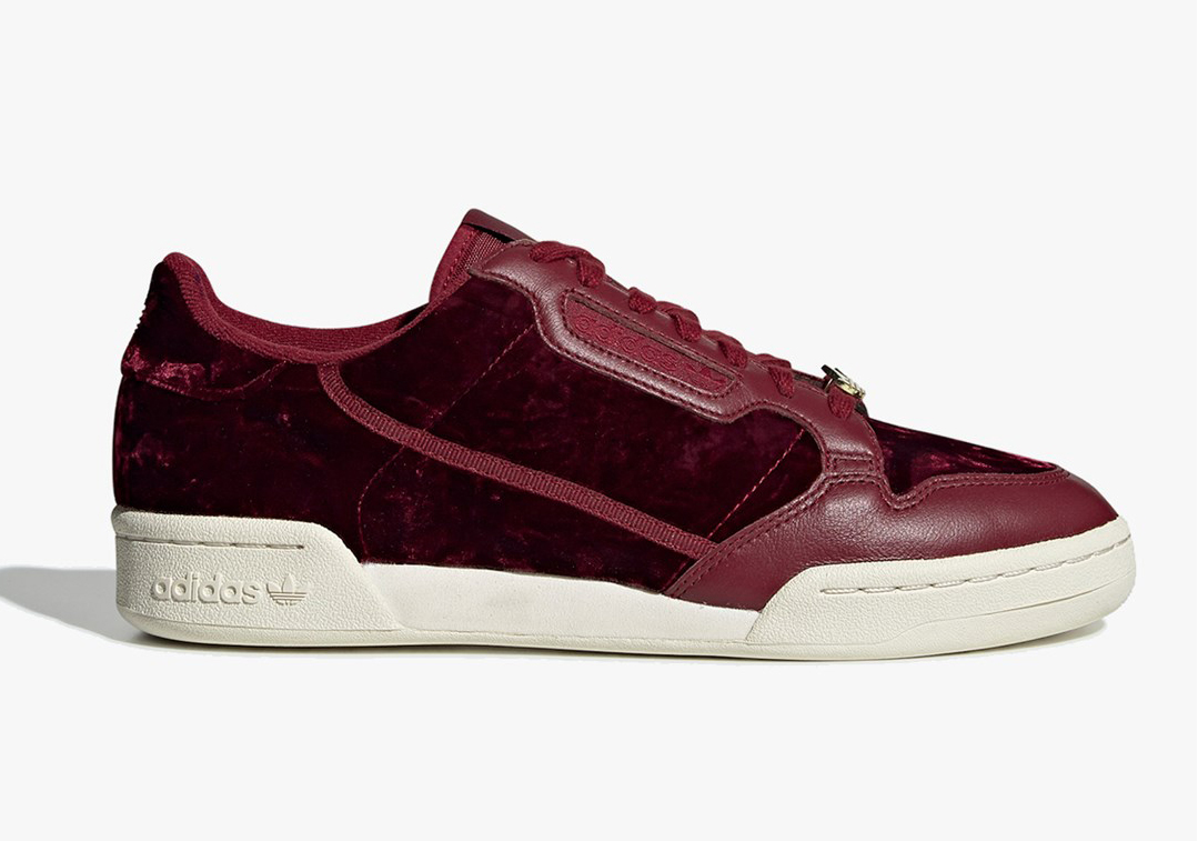 adidas stan smith red velvet