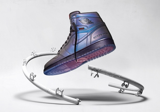 The Air Jordan 1 Swaps Cushioning Systems With Zoom Air