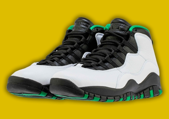 "The Air Jordan 10 ""Seattle"" Releases On October 19th"