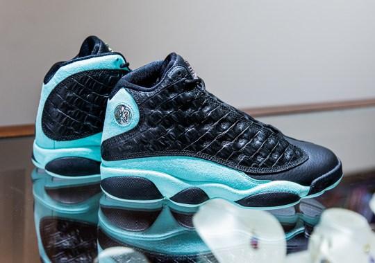 "The Air Jordan 13 ""Island Green"" Channels Diamond-Level Luxury"