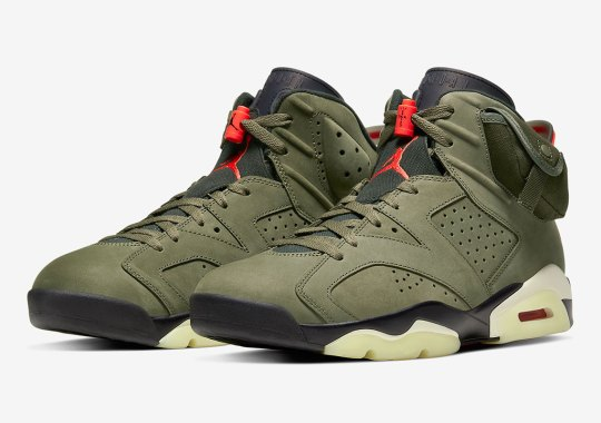 Giveaway: Air Jordan 6 Travis Scott