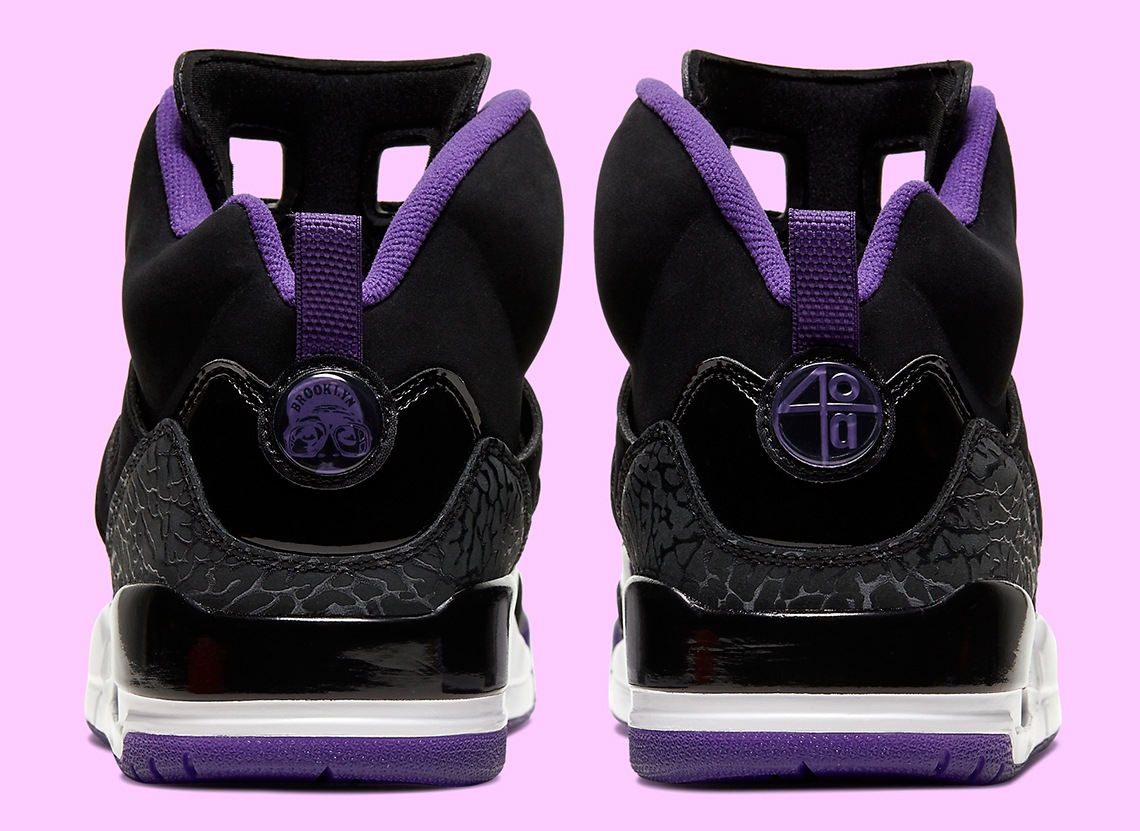 Lakers-Inspired Air Jordan Spiz'Ike Coming Soon: Official Images
