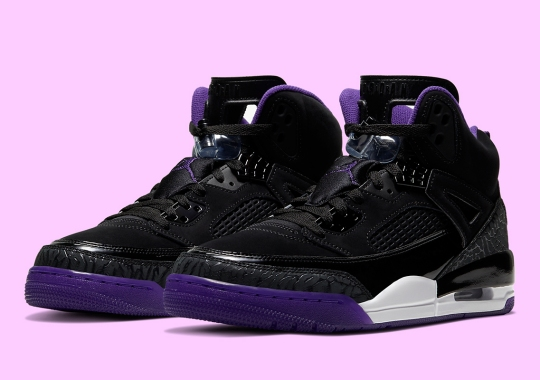 The Jordan Spiz'ike Surfaces In A Colorway Fitting Of The Halloween Theme