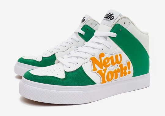 "Alife Makes A Return To Footwear With The Everybody Hi ""NY!"""