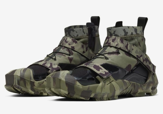ALYX's Matthew M Williams Reissues His Nike Free TR 3 SP In Full Camouflage
