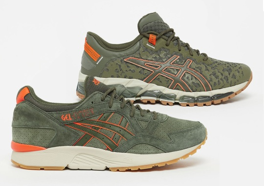 ASICS Launches A Set Of Flight-Jacket Themed Runners