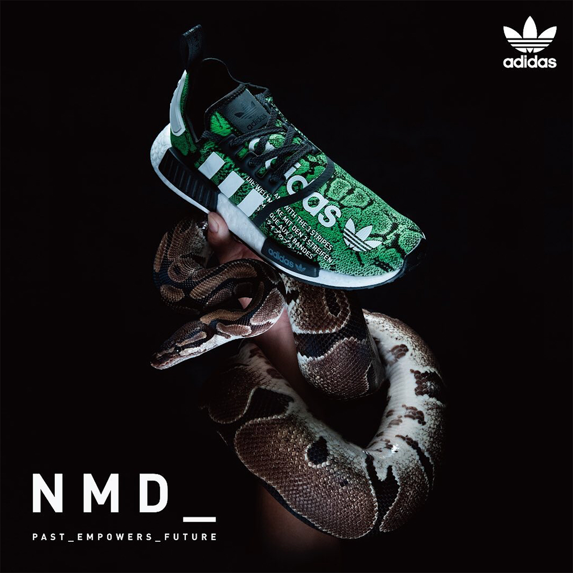 atmos adidas NMD R1 G-SNK - Release