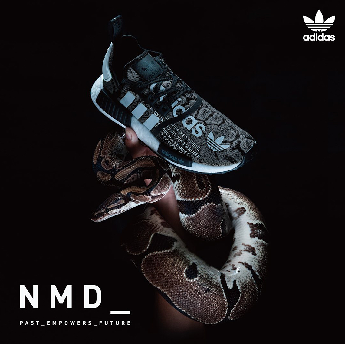 atmos adidas NMD R1 G SNK Release Info |