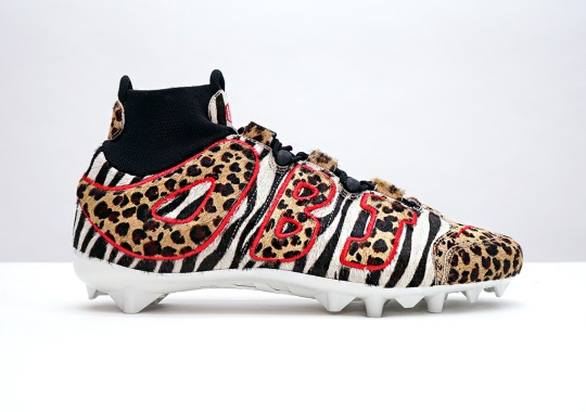 OBJ Channels His Inner Animal With atmos-Inspired Nike PE Cleats