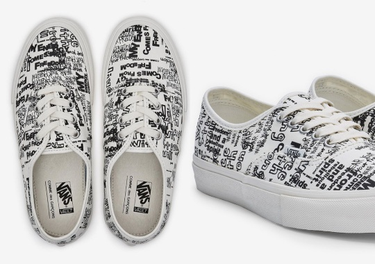 COMME des GARÇONS Drops Exclusive Vans Authentic At DSM Los Angeles