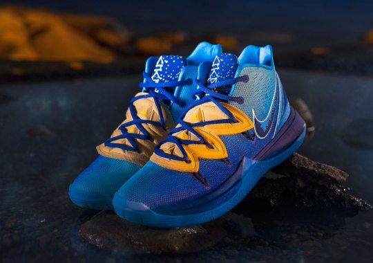 "Concepts And Kyrie Irving Explore The Pyramids Of Giza With The Nike Kyrie 5 ""Orion's Belt"""