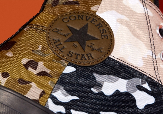 Converse Continues Its Run Of Patchworked Chuck 70s With New Camo Edition