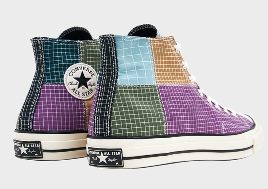 Converse's Shop-Exclusive Chuck 70 Patchwork Collection Continues With New Grid Patterns