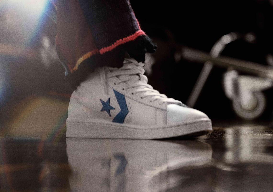 converse pro leather blue