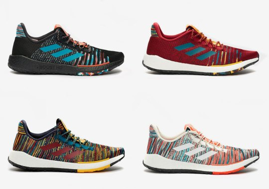 Italy's Missoni Drapes The adidas Pulseboost HD With Four Distinct Patterns