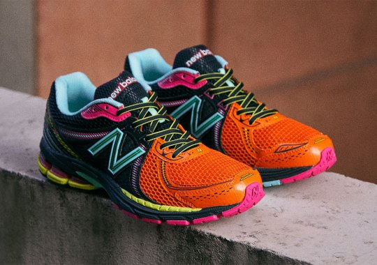 END Applies A Multi-Colored Neon Palette To The New Balance 860v2